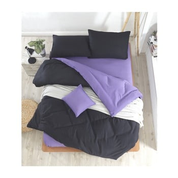 Lenjerie de pat cu cearșaf Permento Masilana, 200 x 220 cm de la EnLora Home