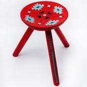 Ručně malovaná stolička Sadova, 38 cm