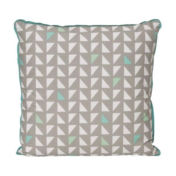 Polštář Triangles Grey, 45x45 cm