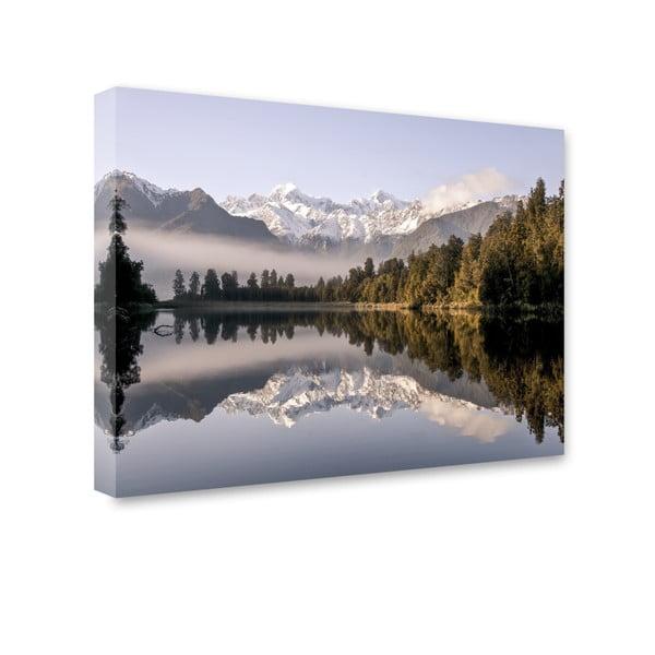 Canvas Nature New Zealand fali kép, 85 x 113 cm - Styler
