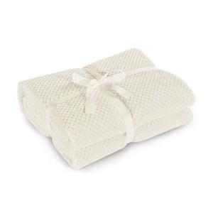 Béžová deka z mikrovlákna DecoKing Henry, 220x240cm