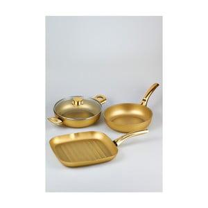 4dílný set nádobí Bisetti Stonegold