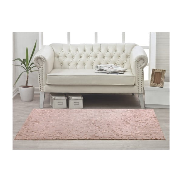 Koberec Welsoft Ivy Powder, 80x200 cm