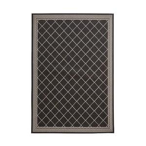 Černý koberec Think Rugs Cottage, 160x220cm