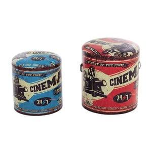 Sada 2 boxů/stoliček Cinema