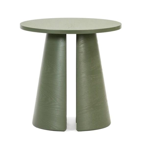 Măsuță auxiliară rotundă Teulat Cep, ø 50 cm, verde