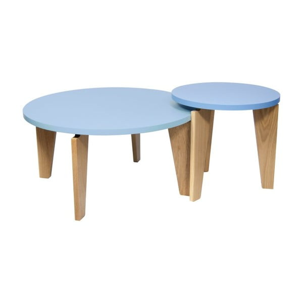 Modrý odkládací stolek TemaHome Magnolia