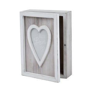 Úložný box s motivem srdce Ego dekor Heart, 13,5 x 19 cm