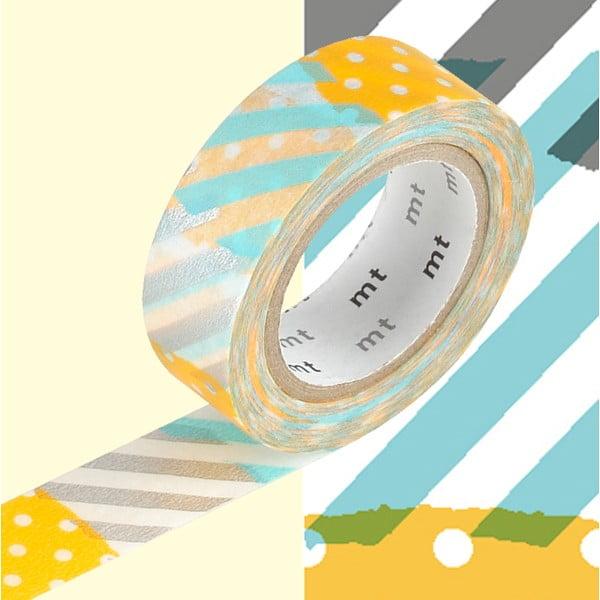 Bandă decorativă washi MT Masking Tape Diane, rolă 10 m