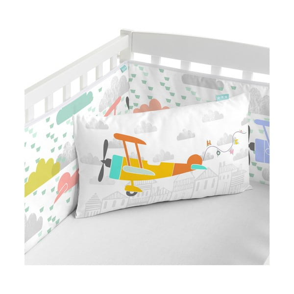 Výstelka do postele Little Village, 70x70x70 cm