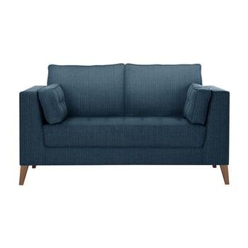 Canapea cu 2 locuri Stella Cadente Maison Atalaia Blue Jeans albastru închis