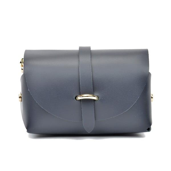 Modrá kožená kabelka Sofia Cardon Rosena