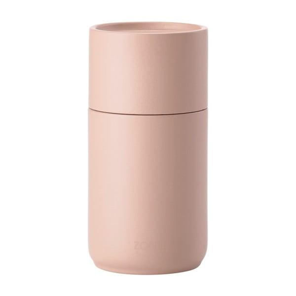 Râșniță din lemn de mesteacăn pentru condimente Zone Duro, roz