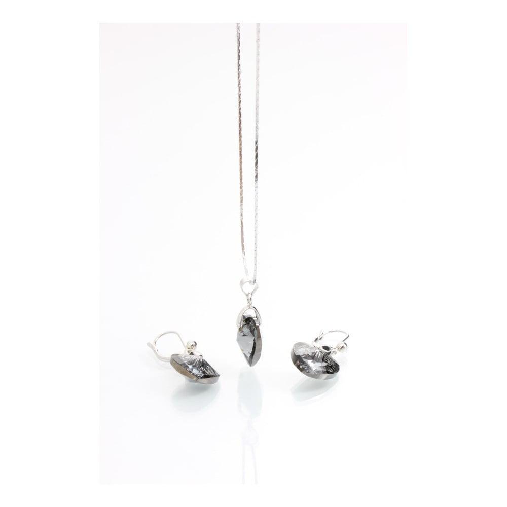 Set náhrdelníku a náušnic se Swarovski Elements Laura Bruni Danniela