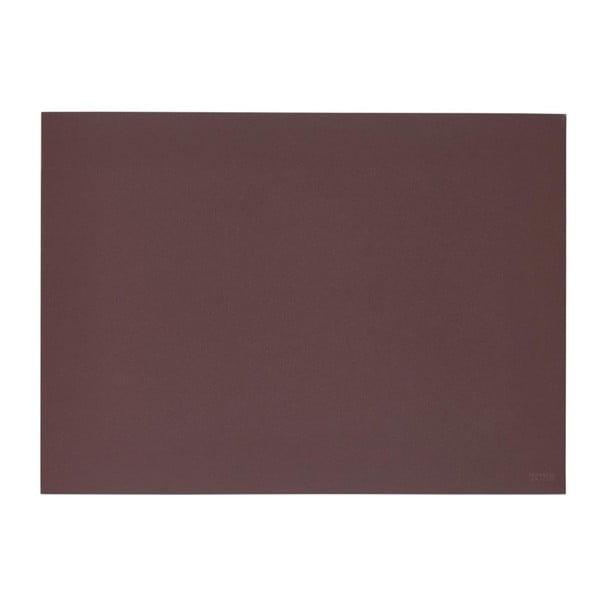 Lino borvörös tányéralátét, 30x40 cm - Zone