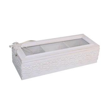Cutie albă pentru bijuterii Antic Line Jew imagine