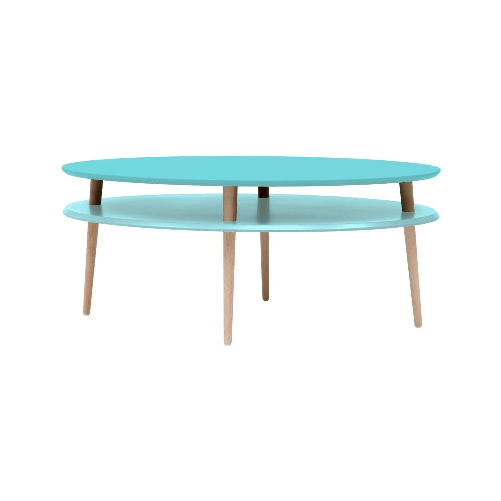 Tyrkysový konferenční stolek Ragaba OVO