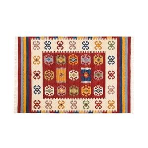 Ručně tkaný koberec Kilim Dalush 006, 90x60 cm