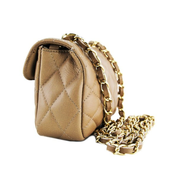Kožená kabelka Custina Tupe