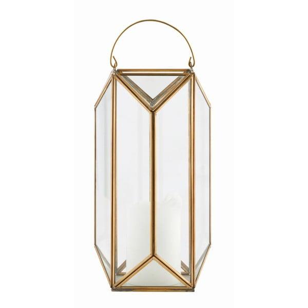 Lucerna Tall Cubix Brass, 30x16 cm