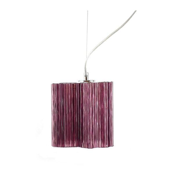 Závěsné svítidlo Ferro Cristal Purple Single