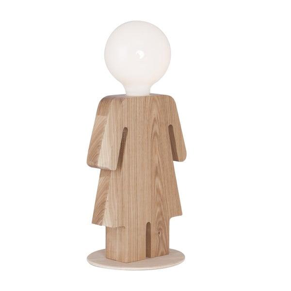 Dřevěná stolní lampa Homemania Anastasia