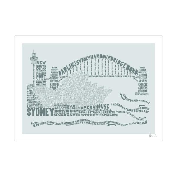Plakát Sydney Grey&Grey, 50x70 cm
