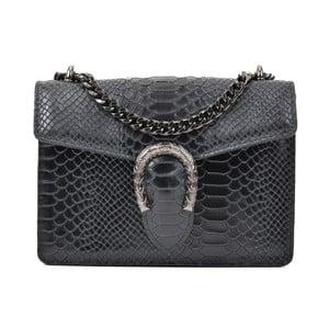 Černá kožená kabelka Renata Corsi Harno
