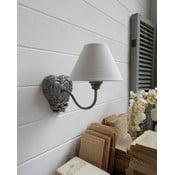 Nástěnná lampa Silver Antique