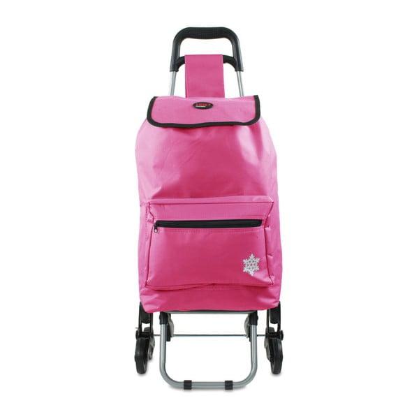 Geantă cărucior cumpărături Hero Atlas, 30 l, roz