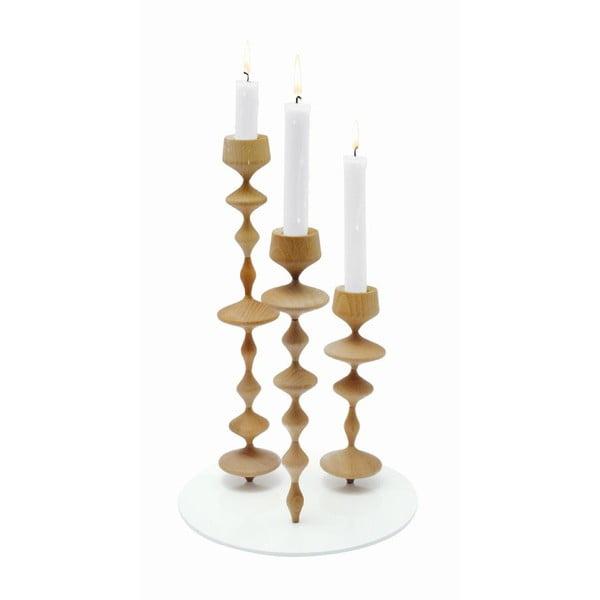 Svícen Les Perles Wood XL