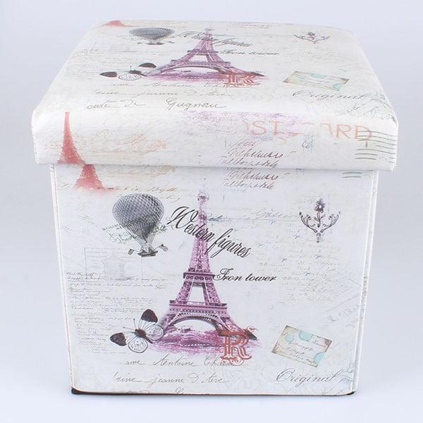 Taburetka na sezení s úložným prostorem Paris