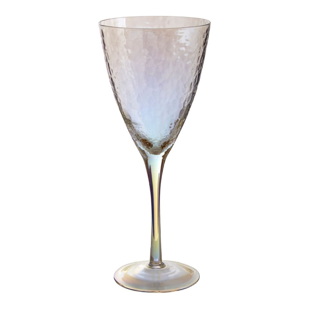 Sada 4 sklenic na víno Premier Housewares Hammered, 377 ml