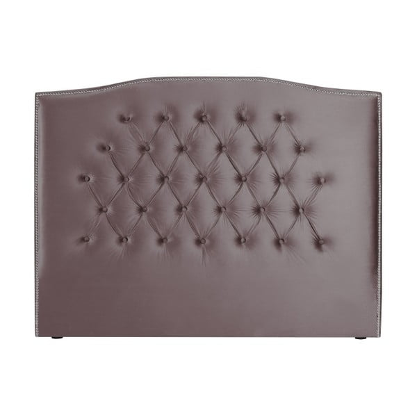 Fialové čelo postele Mazzini Sofas, 200 x 120 cm