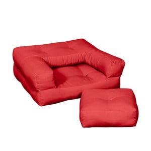 Fotoliu pentru copii Karup Baby Cube Red