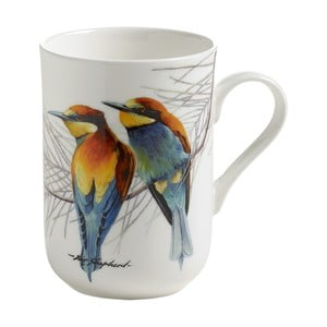 Hrnek z kostního porcelánu Maxwell & Williams Birds Eaters, 330 ml