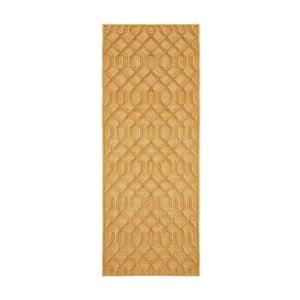 Oranžový běhoun Mint Rugs Shine Mero, 80 x 250 cm