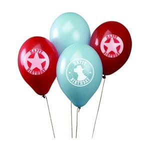 Sada 8 nafukovacích balónků Neviti Wild West Cowboys