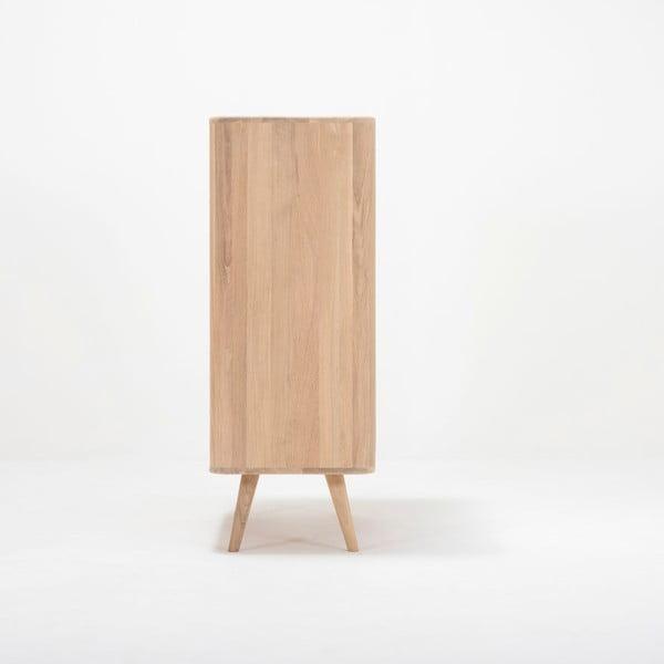 Komoda z dubového dřeva Gazzda Ena One, 90x42x110cm
