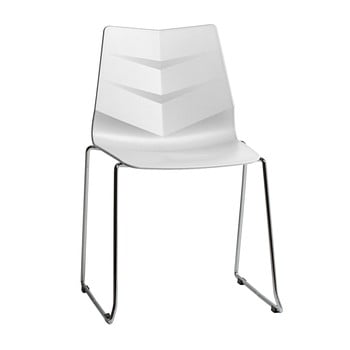 Set 4 scaune Marckeric Sara, alb