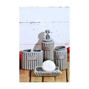 Koupelnový keramický set Confetti Bathmats Beth Time Royale Gris