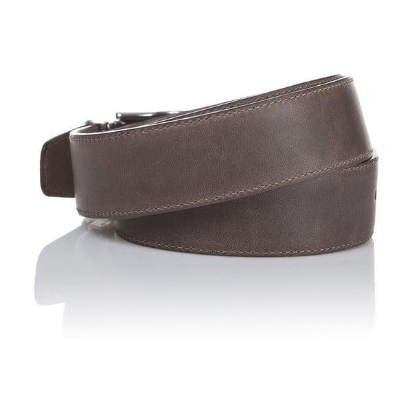 Kožený pásek Brown Havana, 130 cm