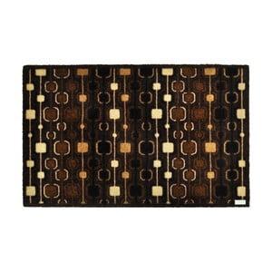 Tmavě hnědá rohožka Zala Living Design Funky Brown, 120x200 cm