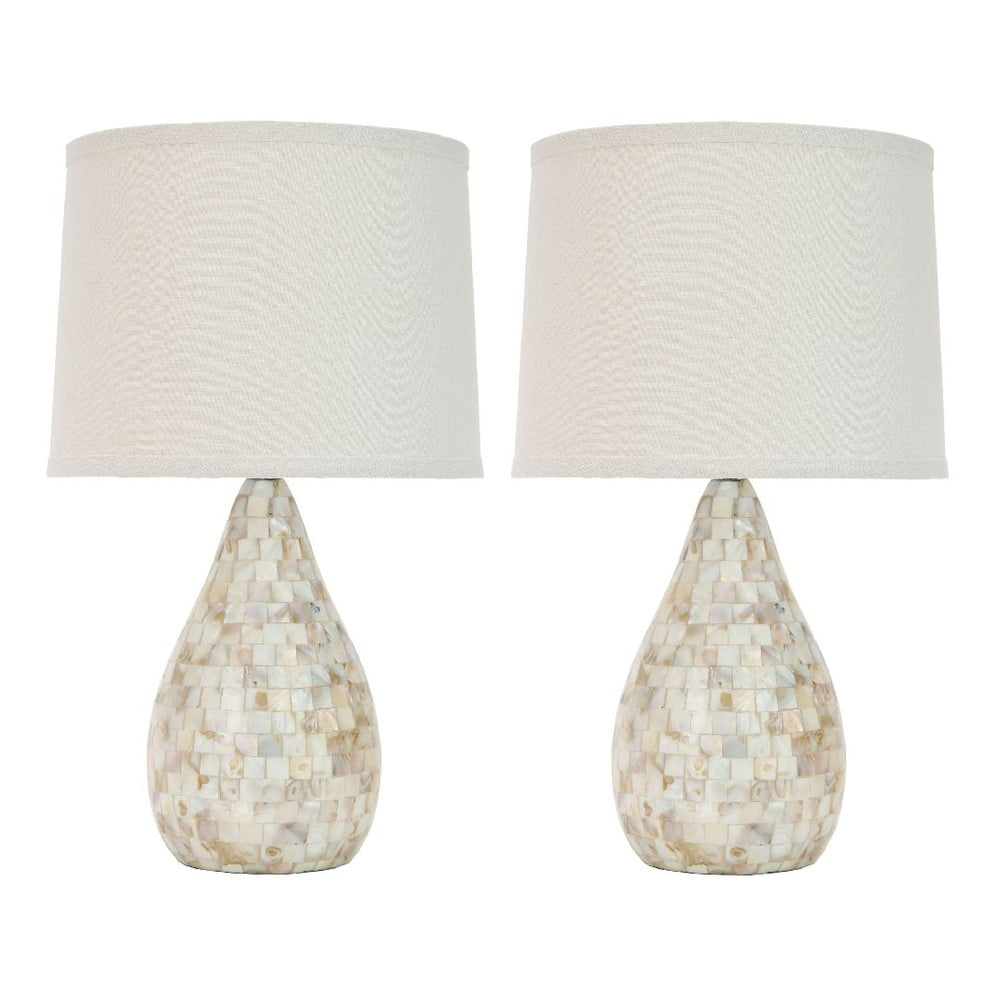 Produktové foto Sada 2 stolních lamp Safavieh Samantha