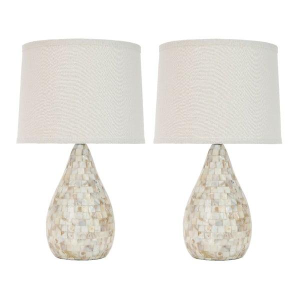 Sada 2 stolních lamp Safavieh Samantha