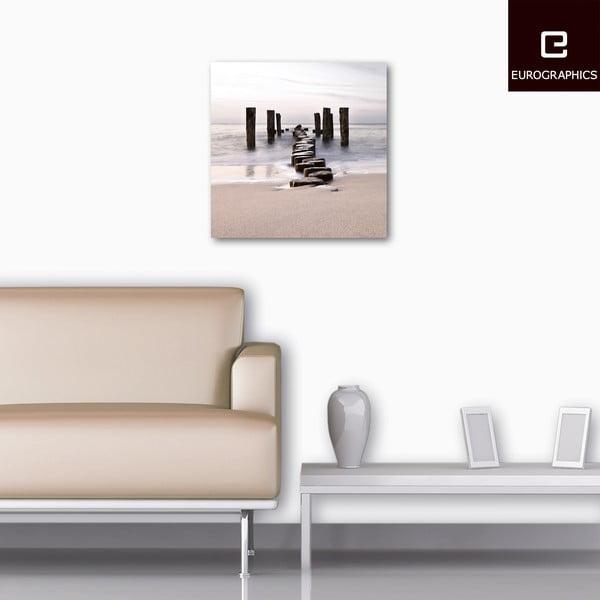 Skleněný obraz Path To Silky Sky, 50x50 cm