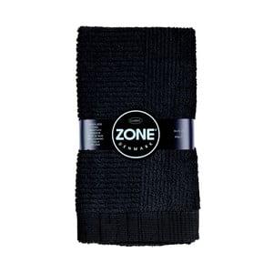 Černý ručník Zone Classic, 50x70 cm