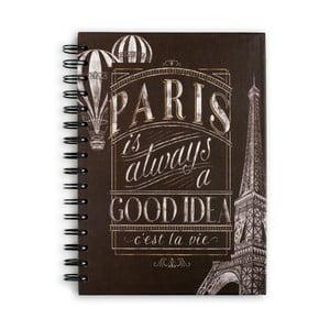 Zápisník  Tri-Coastal Design Paris