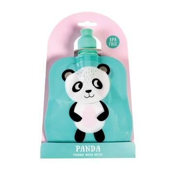 Recipient pliabil pentru apă Rex London Miko The Panda, 200 ml imagine