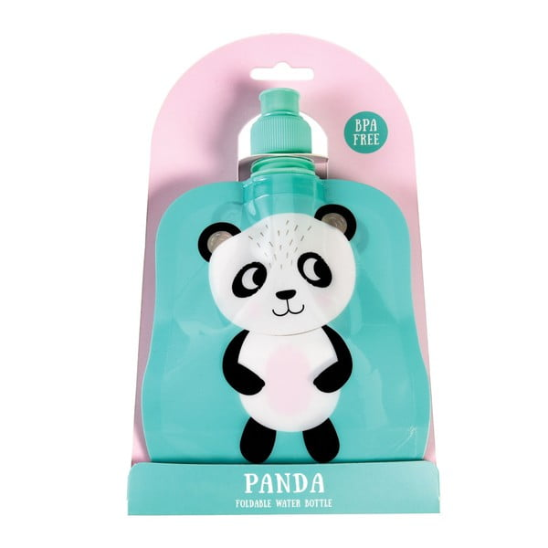 Zwijana butelka na wodę Rex London Miko The Panda, 200 ml